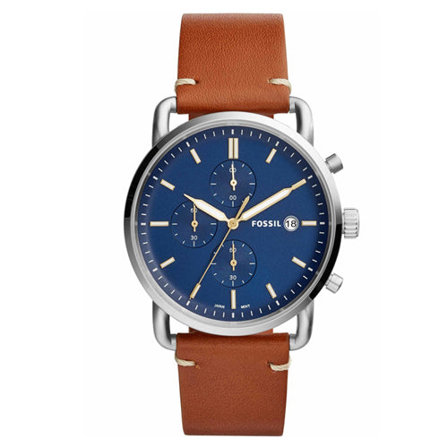 Fossil The Commuter Chrono Brown Watch FS5401