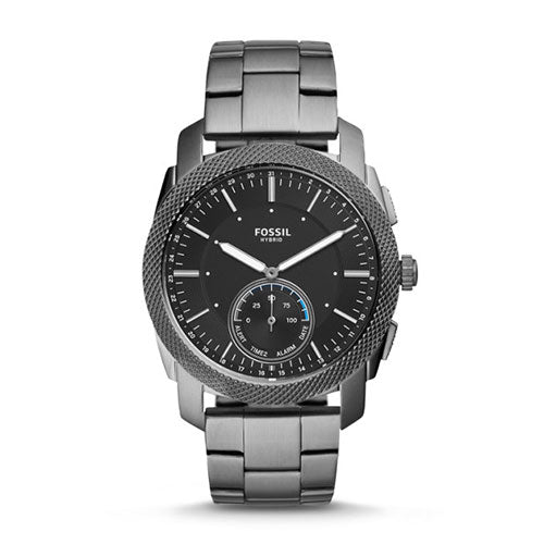 Fossil Q Machine Grey Hybrid Smartwatch FTW1166