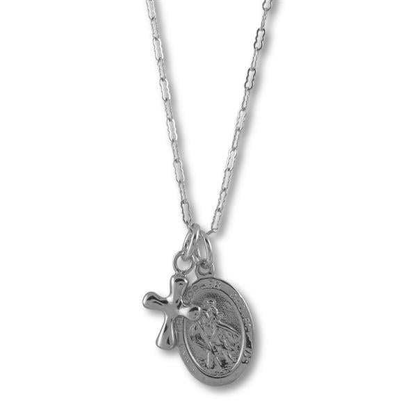 Von Treskow St Christopher Necklace SVN16