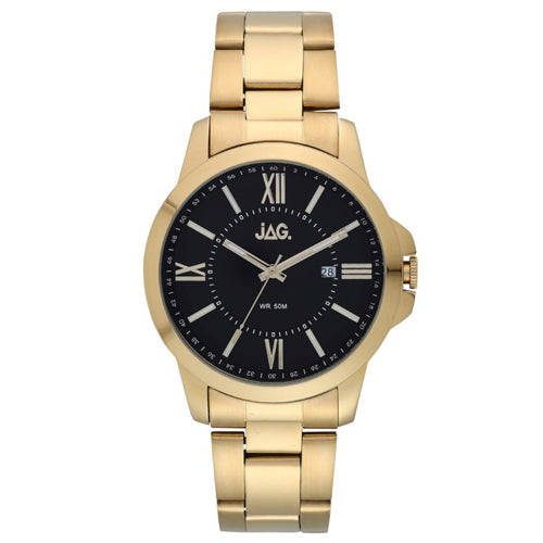 Jag 'Xavier' Gold-Tone Watch J2156A