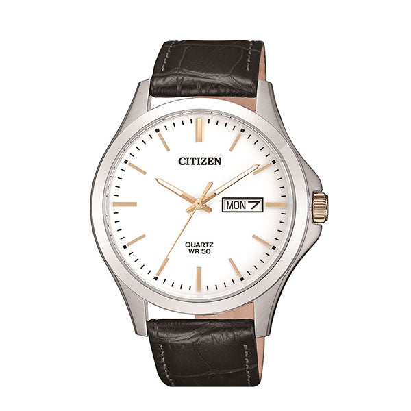 Citizen Leather Strap Watch BF2009-11A