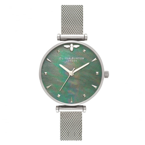 Olivia Burton Queen Bee Mesh Watch OB16AM151