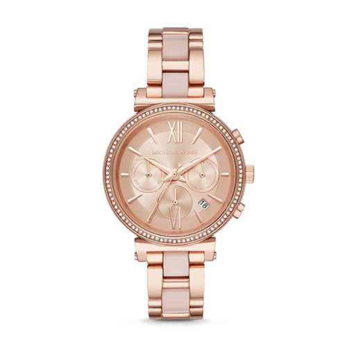 Michael Kors Sofie Rose Gold Watch MK6560