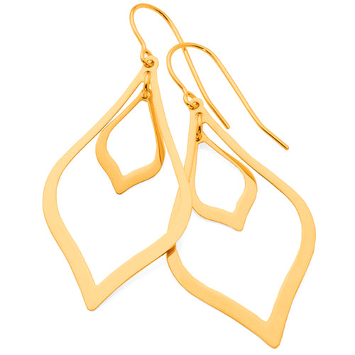 9ct Yellow Gold Hooks