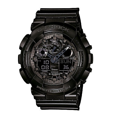 Casio G Shock Analog Digital Watch GA100CF-1A