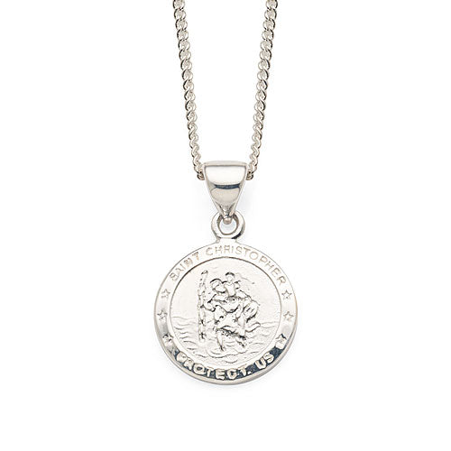 Sterling Silver St.Christopher Pendant