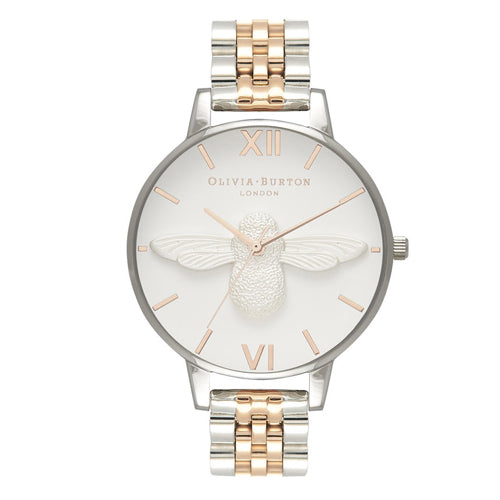 Olivia Burton 3D Bee Bracelet Watch OB16AM156