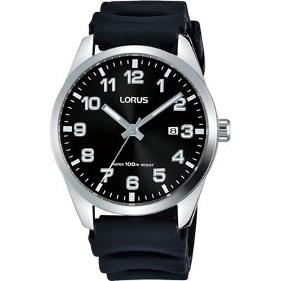 Lorus Rubber Strap Watch RH979JX-9