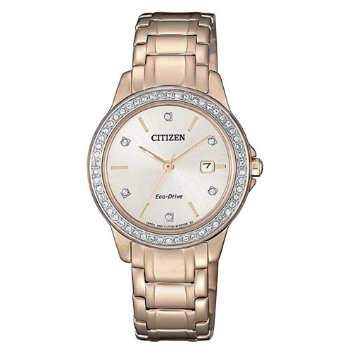 Citizen Eco-Drive Rose Tone Watch FE1173-52A