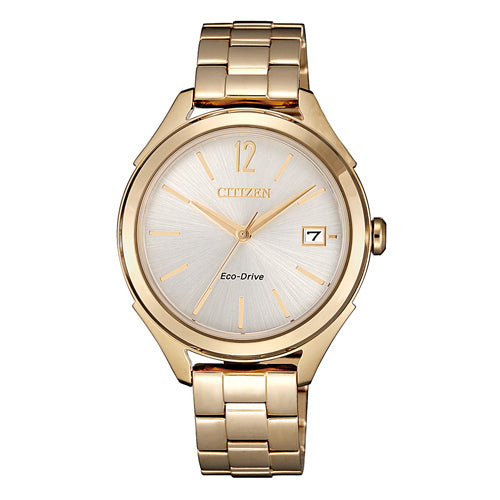 Citizen Eco-Drive Rose Gold Watch FE6149-84A