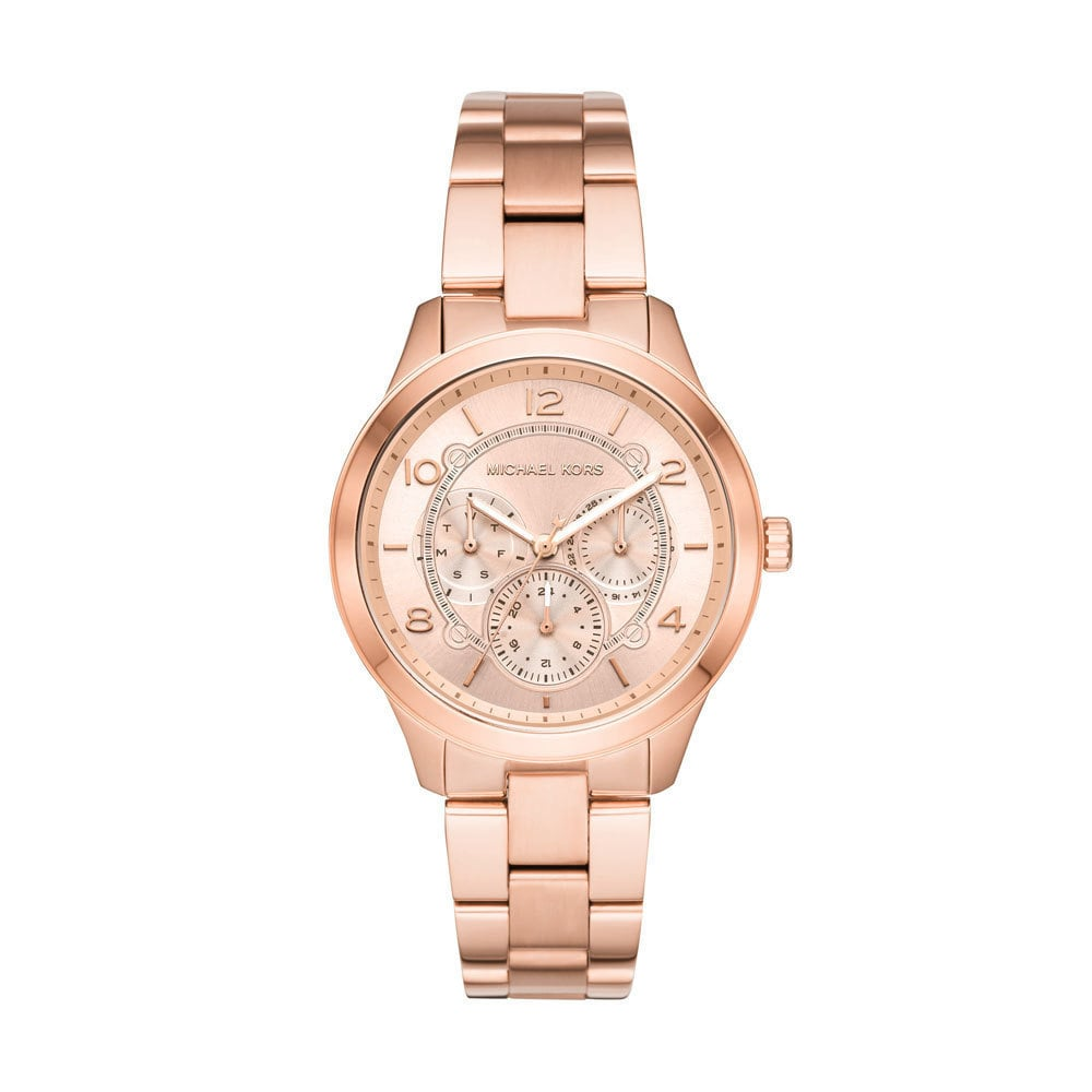 Michael Kors Runway Rose Gold Watch MK6589