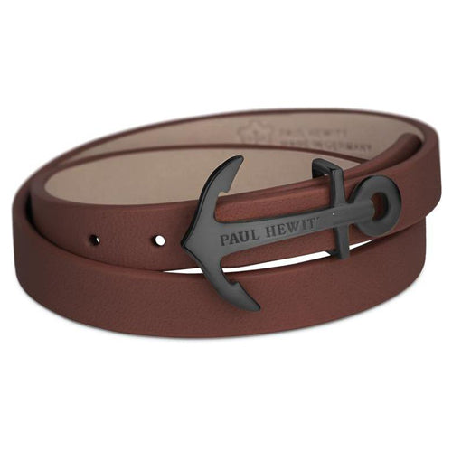 Paul Hewitt North Bound Leather Bracelet