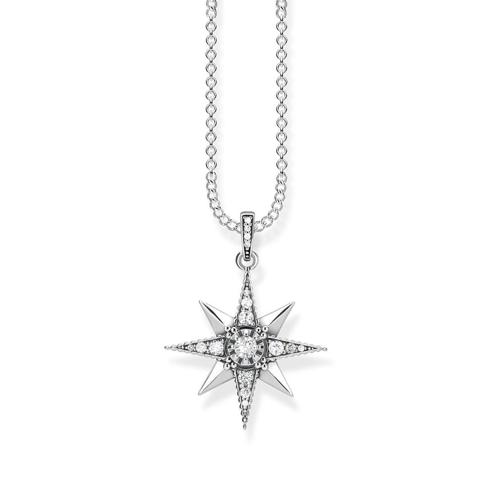 Thomas Sabo 'Royalty Star White' Necklet TKE1825