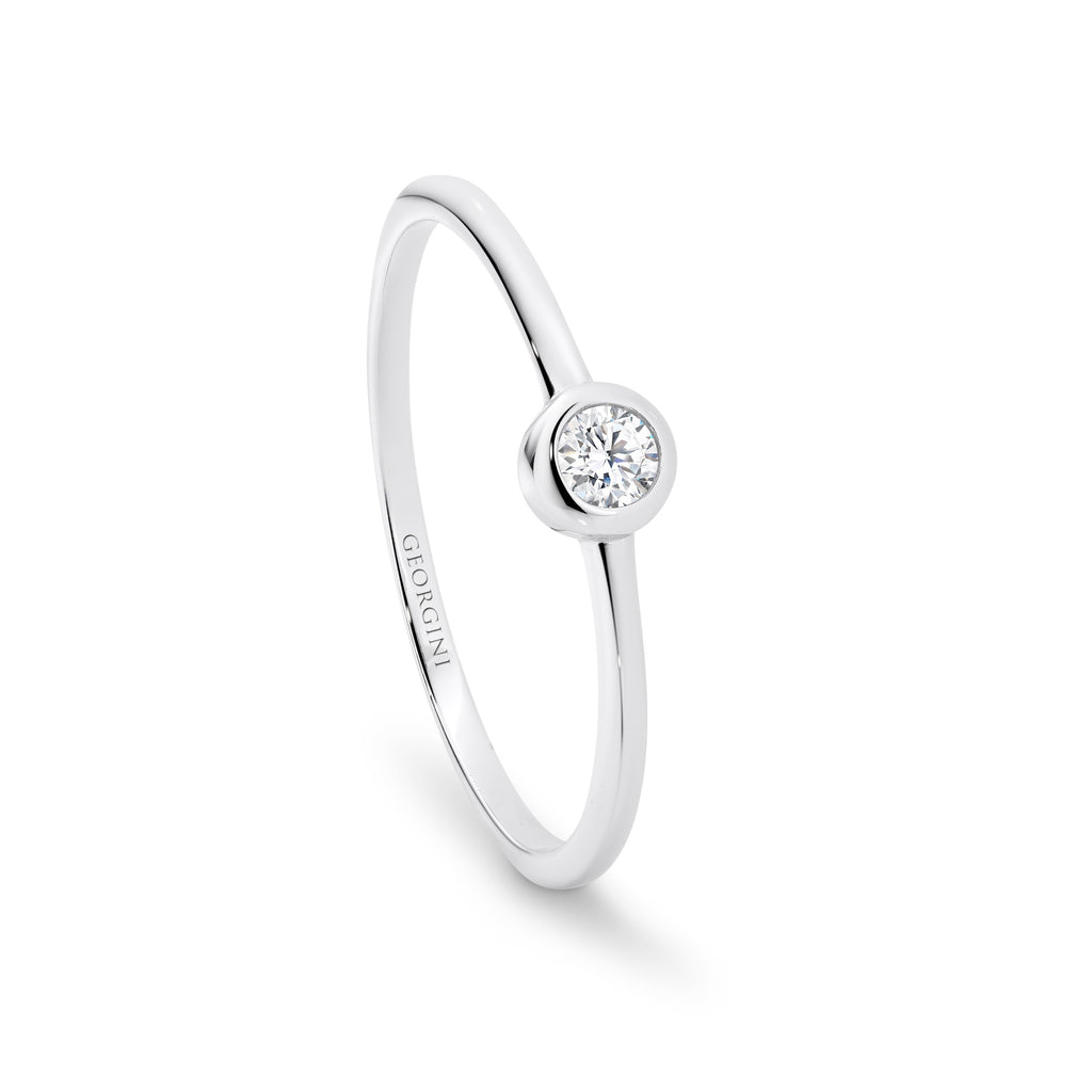 Georgini 'Oasis' Sterling Silver Ring R412
