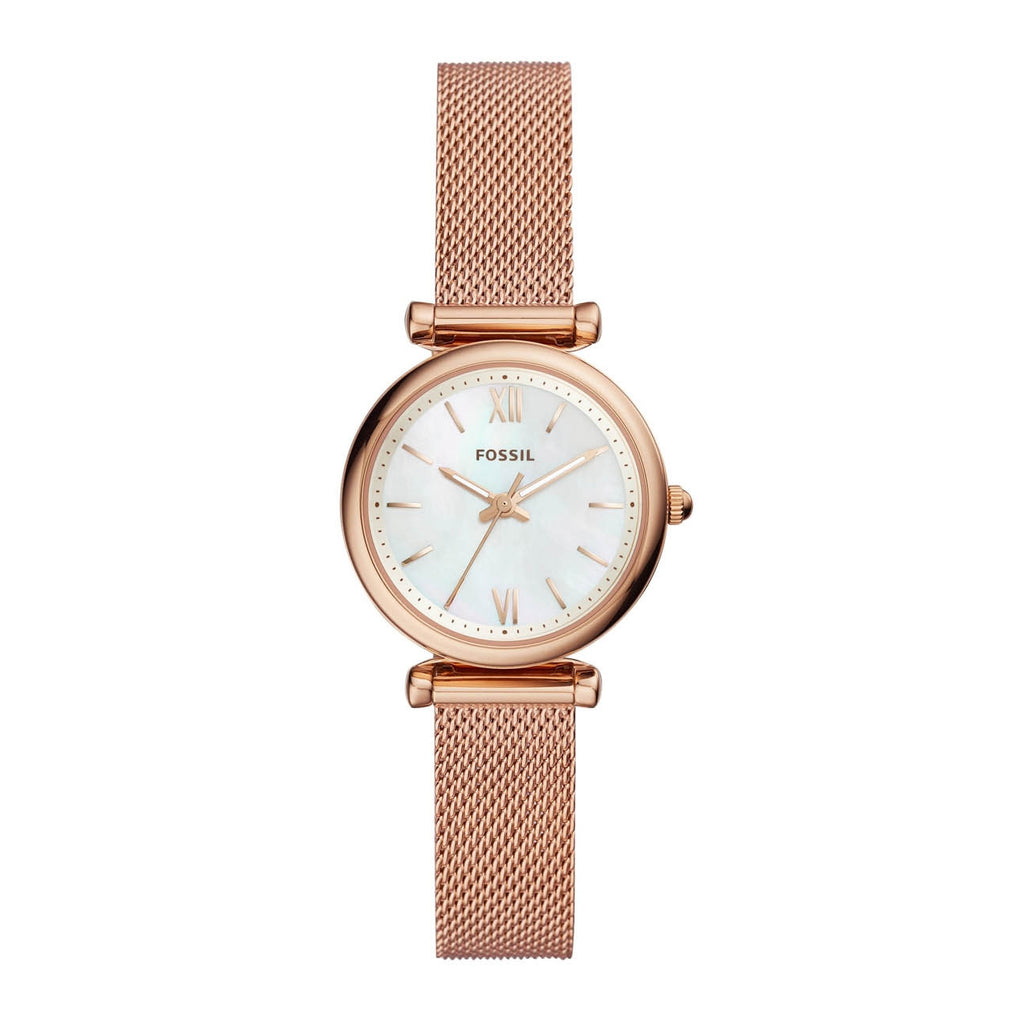 Fossil Carlie Rose Gold Watch ES4433