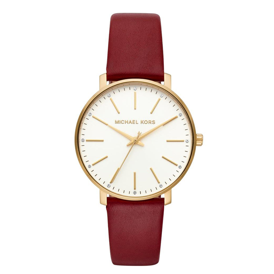 Michael Kors Pyper Leather Watch MK2749