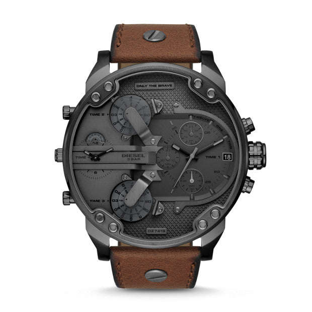 Diesel Mr Daddy 2 Brown Watch DZ7413