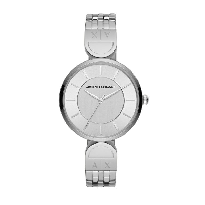 Armani Exchange Brooke Silver Watch AX5327