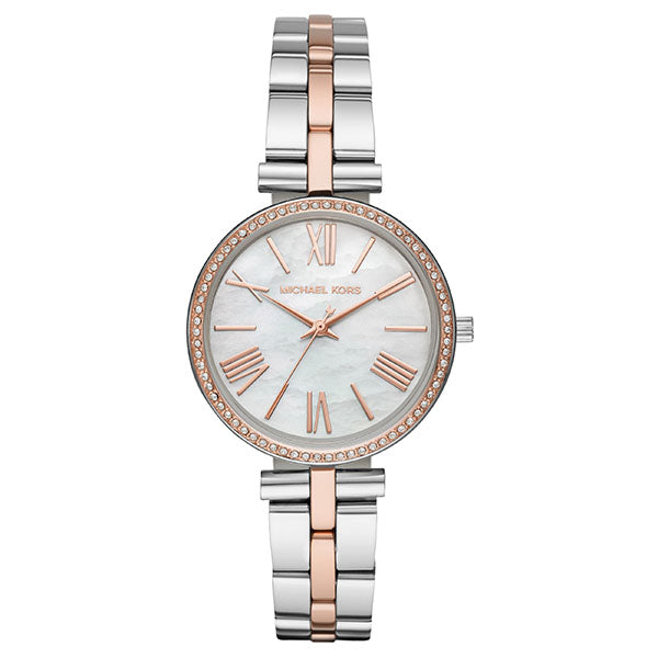 Michael Kors Maci 2-Tone Watch MK3969
