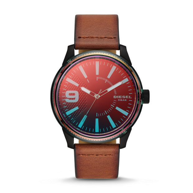 Diesel Rasp Nsbb Brown Watch DZ1876