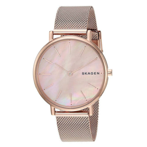 Skagen Signatur Rose Gold Watch SKW2732