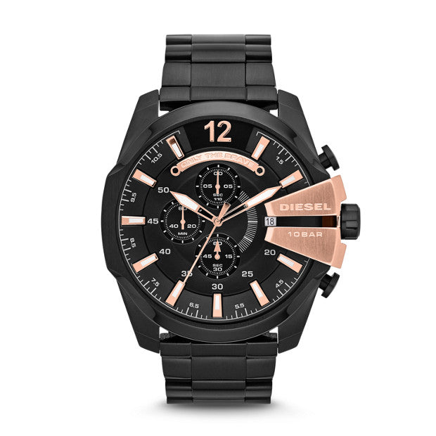Diesel Mega Chief Black Watch DZ4309