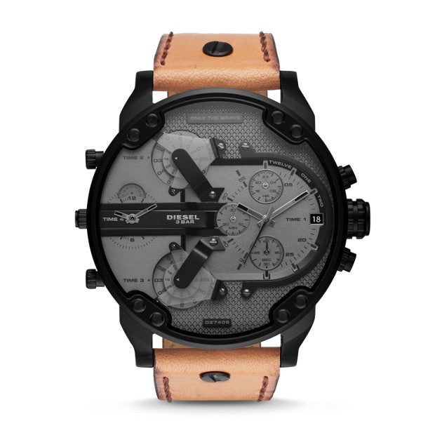 Diesel Mr Daddy 2 Brown Watch DZ7406