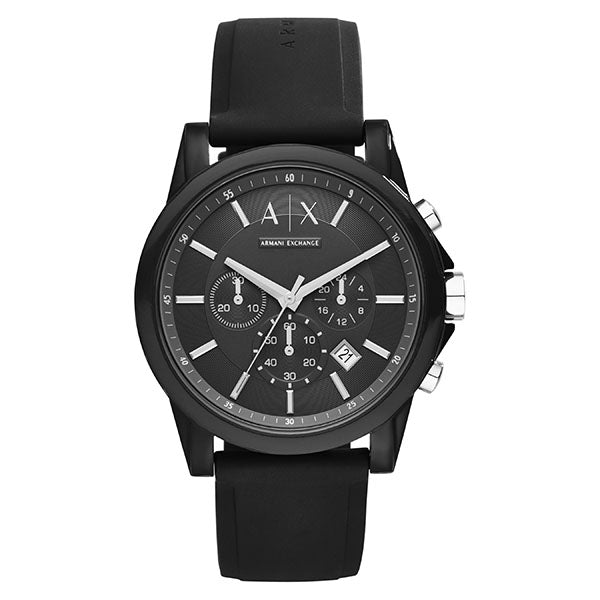 Armani Exchange Outerbanks Black Watch AX1326