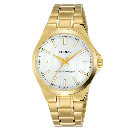Lorus Gold-Tone Dress Watch RG228PX-9