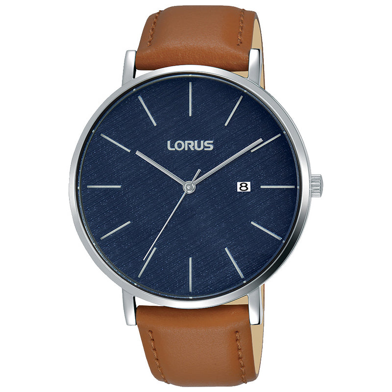Lorus Leather Strap Watch RH903LX-9