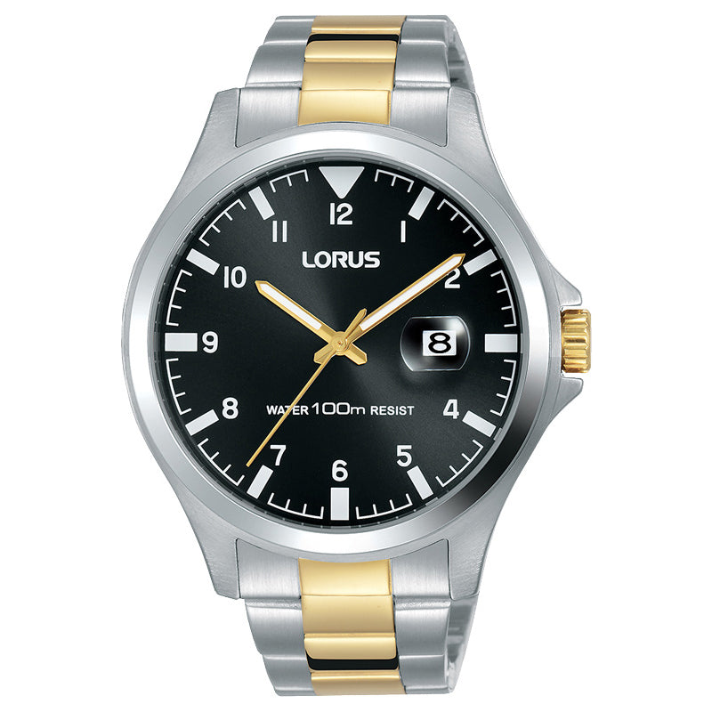 Lorus Gents 2-Tone Watch RH959KX-9