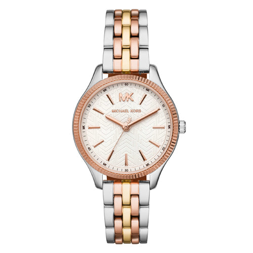 Michael Kors Lexington Tri Tone Watch MK6642