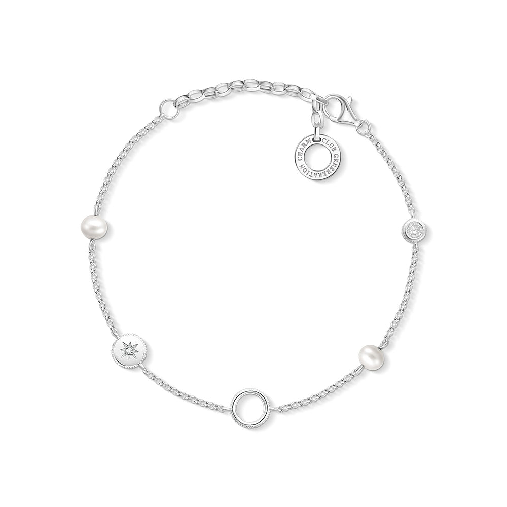 Thomas Sabo 'Pearls' Bracelet CX0273