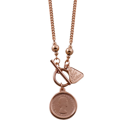 Von Treskow Threepence Coin Necklace AWN03