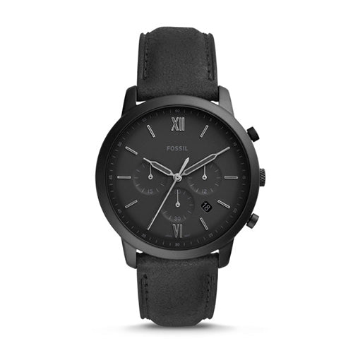 Fossil Nuetra Chronograph Leather Watch FS5503