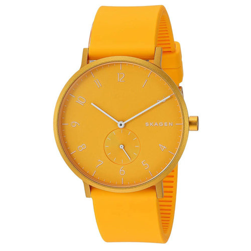 Skagen 'Aaren Kulor' Yellow Watch SKW6510