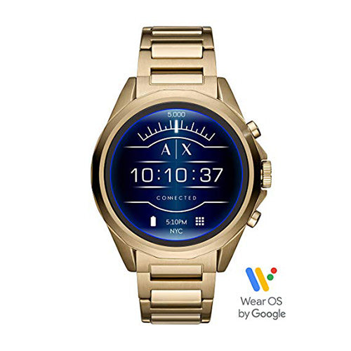 Armani Exchange Gold-tone Smartwatch AXT2001