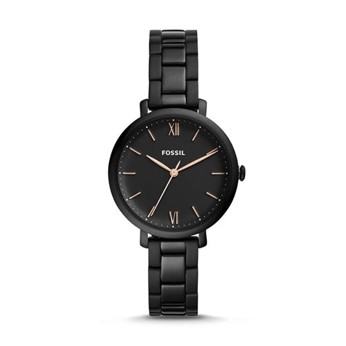 Fossil Jacqueline Black Stainless Watch ES4511