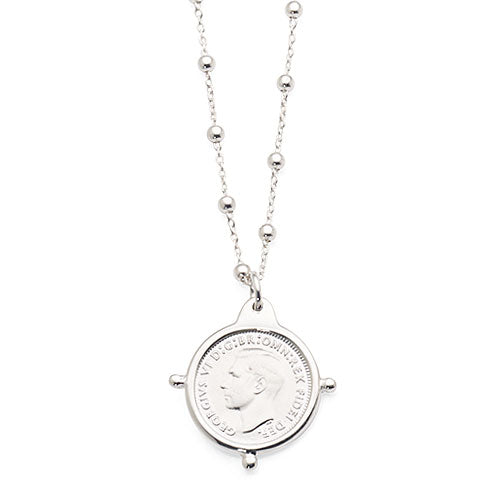 Von Treskow SS Threepence Necklace AWN84