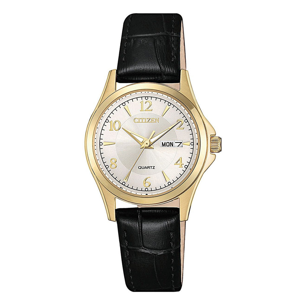 Citizen Leather Strap Watch EQ0593-26A