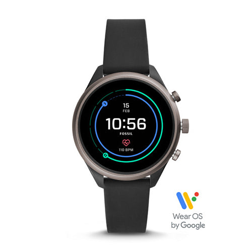 Fossil Sport Smartwatch - Black Silicone FTW6024