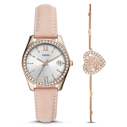 Fossil Mini Scarlette Watch Gift Set ES4607SET
