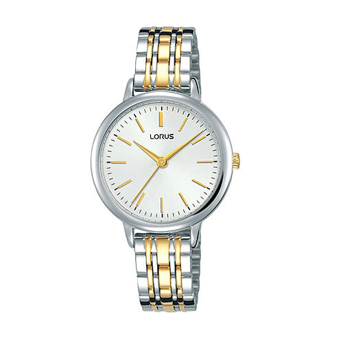 Lorus 2-Tone Dress Watch RG295PX-9