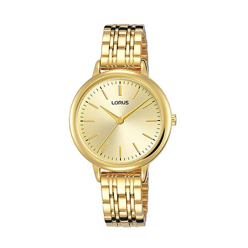 Lorus Gold-Tone Dress Watch RG204QX-9