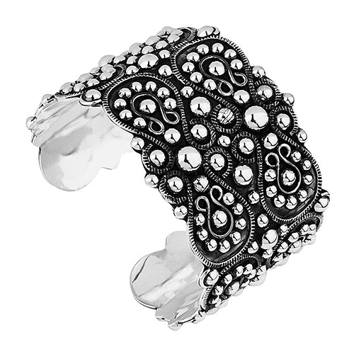 Najo Sterling Silver 'Daniela' Cuff Bangle B6157