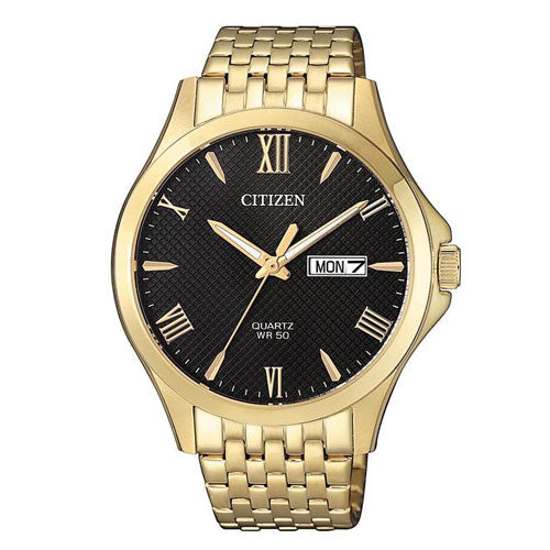 Citizen Gents Gold Tone Dress Watch BF2022-55H