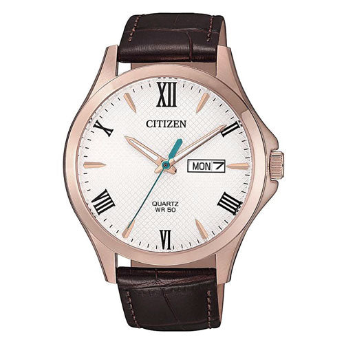 Citizen Gents Leather Strap Watch BF2023-01A