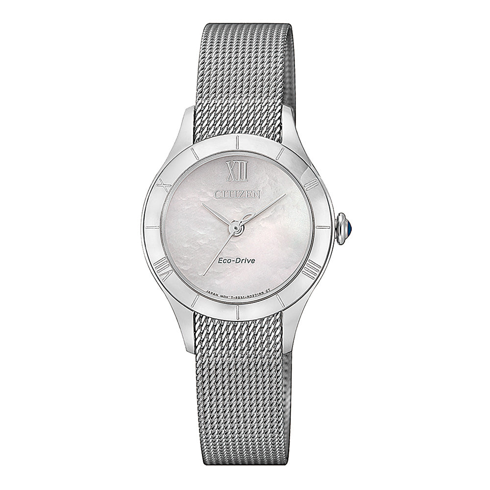 Citizen Eco-Drive Mesh Strap Watch EM0780-83D