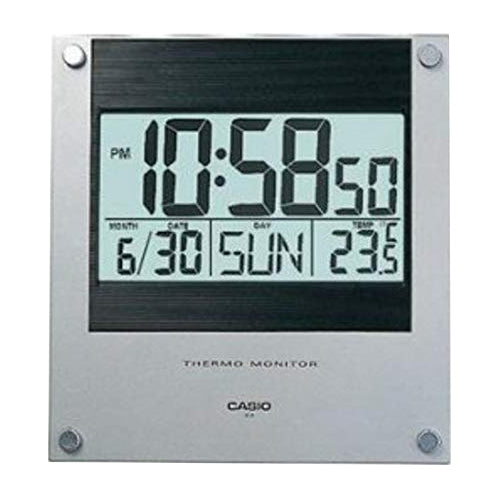 Casio Digital Wall Clock With Thermometer ID11-1