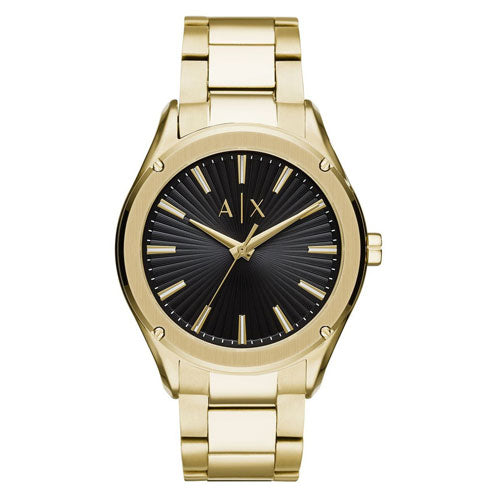 Armani Exchange 'Fitz' Gold-Tone Watch AX2801